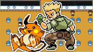 Pokémon Yellow - Gym 3 vs. LT. Surge - YouTube