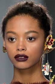 cut pair a face with a strong lip for a striking look