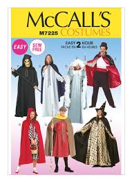 Mccalls Costume Patterns Magnificent M48 Misses'Men's Cape And Tunic Costumes Sewing Pattern