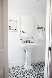 black and white bathroom tiles. Office Winsome Black White Bathroom Tile 16 I Heart Naptime 3 740x1110 Mosaic And Tiles