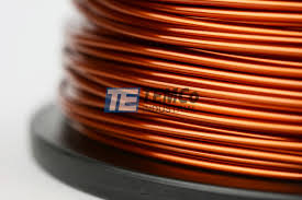 14 awg copper magnet wire mw0125 5 lb magnetic coil amber temco temco mw0125 copper magnet wire 2
