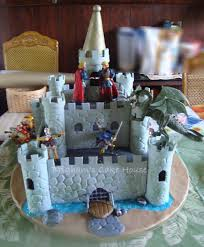 Medieval Castle Cake Designs Knights Castle Cake Made This For My Twin Boys 6th