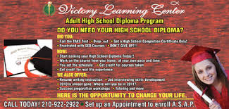 victory learning center adult high school diploma  victory learning center adult high school diploma program san antonio express news