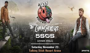 Talking Stick Pool Concert Seating Chart The Chainsmokers Talking Stick Resort Arena