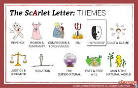 the scarlet letter theme of hypocrisy