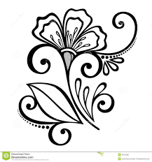 Flowers With Designs Doodles Pencil Drawings Of Flowers Drawings Flower Doodles