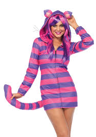 Striped cat womans costume