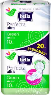 Гигиенические прокладки Bella Perfecta Ultra Green 20 ... - ROZETKA