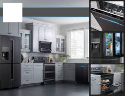 samsung black stainless steel. Engaging Kitchenaid Krfcebs French Door Refrigerators Black Stainless Refrigerator In Steel Appliances Samsung O
