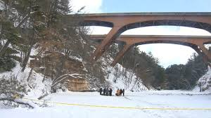 Passenger Id Bridge Truck Lake Semi Plunged Over Mirror Wisc - Officials Killed After