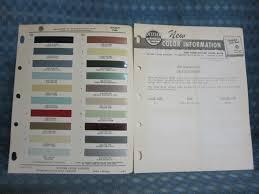 1960 Lincoln Original Ditzler Paint Color Chip Chart Information Bulletin Nos Texas Parts Llc Antique Auto Parts