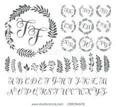 Free Wedding Program Fan Templates Fans Programs Download Monogram