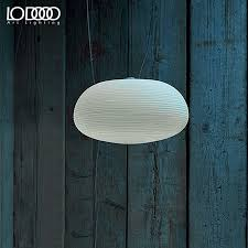 get ations le light thread minimalist white frosted glass shade restaurant dining room chandelier bar creative personality chandelier