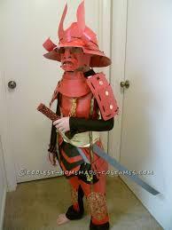 amazing handmade samurai costume and armor for 8 year old