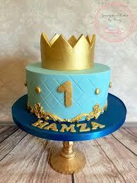 Birthday Cake Boy Little Prince First Birthday Cake Andrews 1st