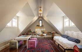 contemporary attic bedroom ideas displaying cool. View In Gallery Cool Hangout For Kids And Adults Alike The Attic! [Design: Upscale Construction Contemporary Attic Bedroom Ideas Displaying T
