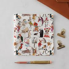 alice in wonderland handkerchief pocket square gift set