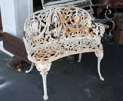 super ornate cast iron garden set for