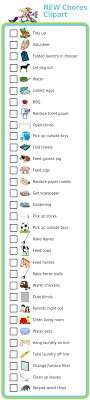 New Chores Clipart The Trip Clip Blog Make Any List Then