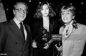Portrait des comédiens Jean Poiret, Caroline Cellier et Françoise ...