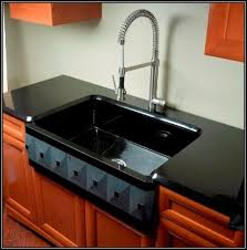 black undermount kitchen sinks kohler cast iron kitchen sink cleaner black sinks
