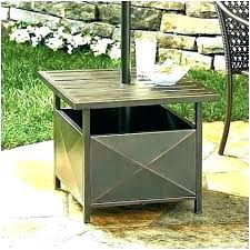 outdoor umbrella side table outdoor umbrella side table stand base idea patio or ta outdoor umbrella stand side table outdoor umbrella side table stand