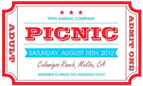 Picnic Invites Templates Free Invitation Template On Baby Shower