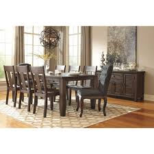 Ashley Furniture Kitchen Table Sets Ashley Furniture Trudell Rectangular Dining Room Extension Table