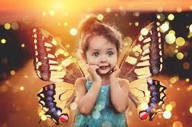 Little Cute Baby Girl Angel Wallpaper ...