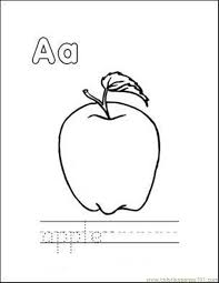 Use these free apple coloring pages to welcome fall or even use them as a fun activity in an apple unit study for your kids. Printable Apples Coloring Home