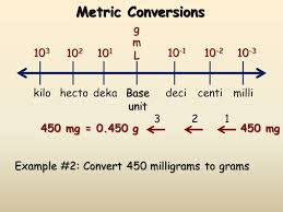 Mg To Grams Chart The Si System Of Measurement The Nature Of Measurement Part