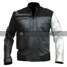 marvel avengers winter solr motorcycle leather jacket