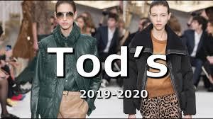 <b>Tod's</b> модная осень 2019 зима 2020 в Милане / <b>Одежда</b>, <b>обувь</b> и ...