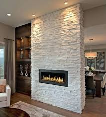 flat stone fireplace the best white fireplaces ideas on inside prepare 9
