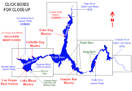 Map Of Lake Mead