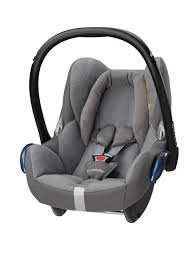 maxi cosi cabriofix car seat concrete grey