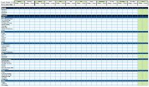Personal Finance Excel Excel Sheet Format For Daily Expenses