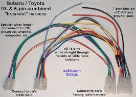 10 and 6 pin combined wiring harness for subaru impreza forester allows you to install after market equipment in your car out cutting or splicing any factory wires combined forward reverse 10 and 6 pin harness