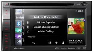 pioneer touch screen stereo. pioneer avic-x920bt pandora radio interface touch screen stereo