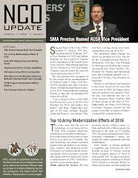 preparing for centralized noncommissioned boards association of ausa nco update quarterly newsletter