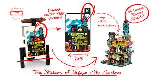 The Stickers of Ninjago City Gardens - BrickNerd - All things LEGO and the  LEGO fan community