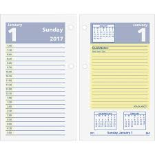 at a glance quicknotes daily desk calendar refill aage51750 original