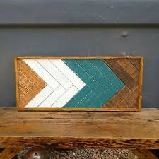 reclaimed wood art mosaic rustic wood