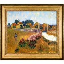 vincent van gogh x27 farm house in provence x27 hand painted