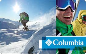 Columbia eGift Cards - Clothing & Accessories | eGifter | eGifter