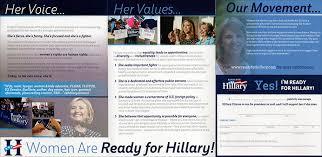 Campaign Brochure 2016 Presidential Campaign Literature Pre Campaign Period