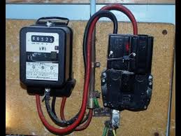 how to wire single phase kwh energy meter conection youtube Single Phase Meter Wiring Diagram how to wire single phase kwh energy meter conection single phase meter socket wiring diagram