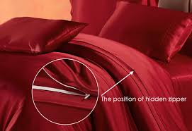 zip position of lilysilk duvet cover in zipper inspirations 0