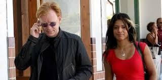 David Caruso avec amie Amina Tyrone