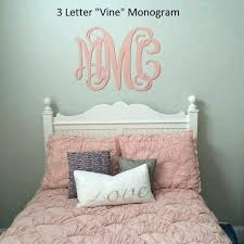 monogram wall hanging painted wooden monogram wall hanging monogram nursery monogram